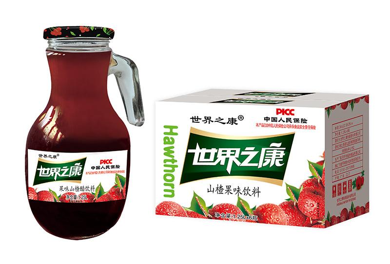1.25升果味山楂醋箱装