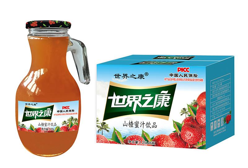 1.25升山楂蜜汁箱装