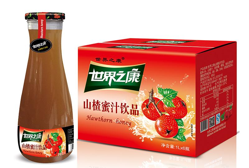 1升山楂蜜汁饮品