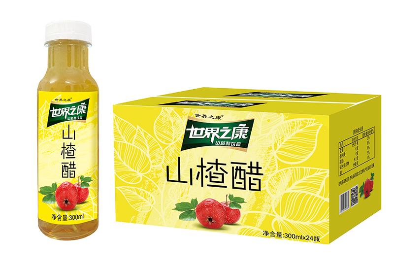 300ml山楂醋(24支装纸箱)