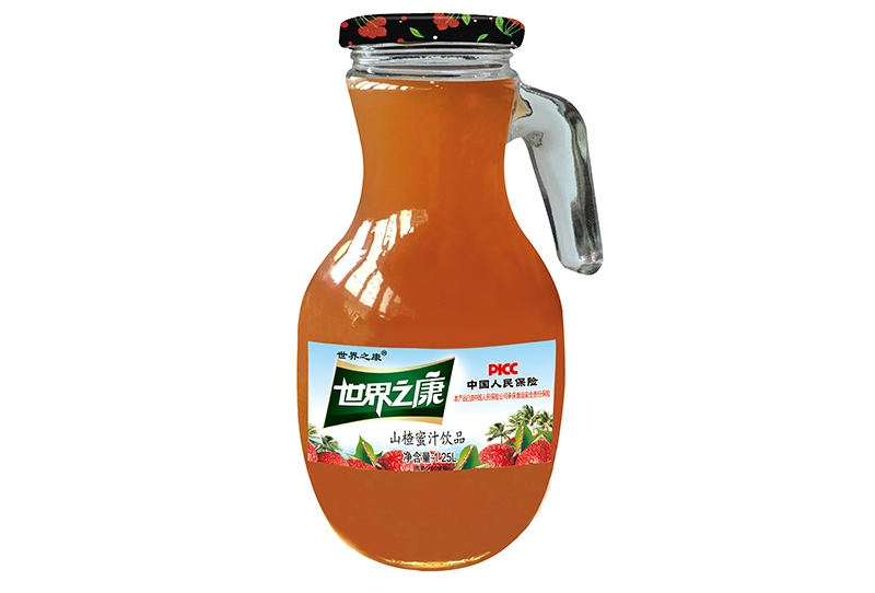 江苏1.25升山楂蜜汁