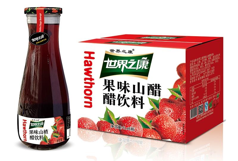 1升果味山楂醋