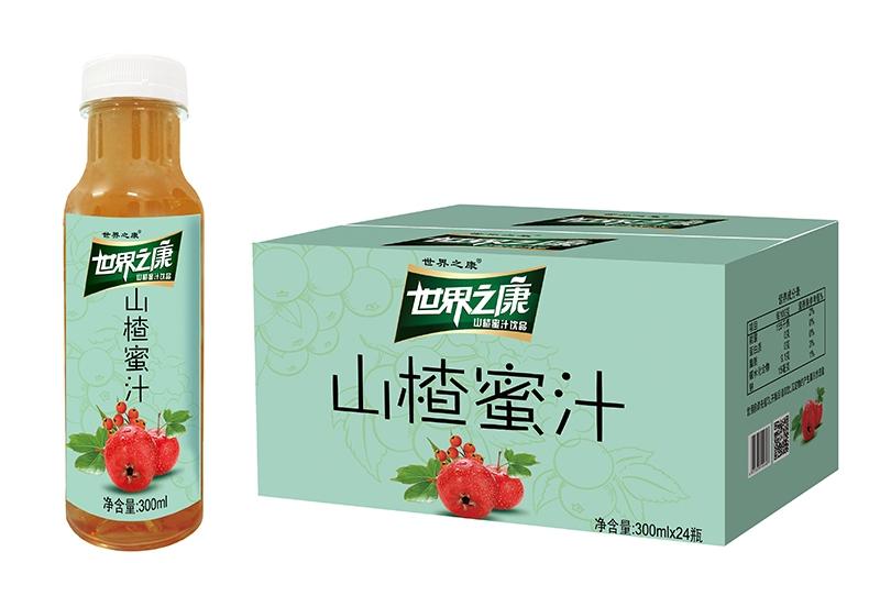 300ml山楂蜜汁(24支装纸箱)