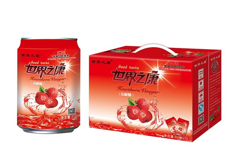 310ml×12清爽型山楂醋