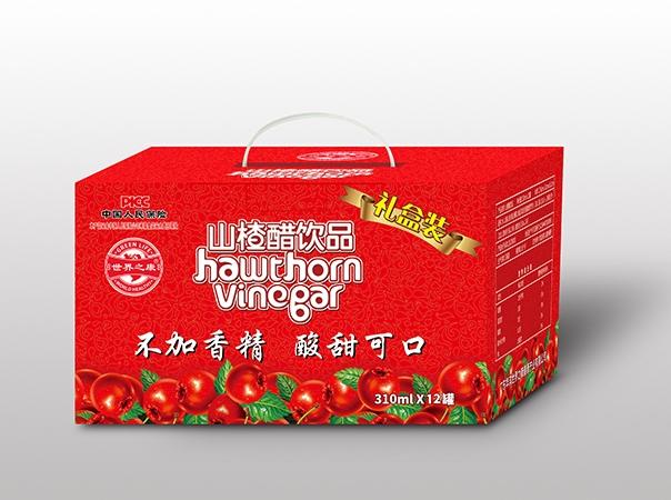 江苏山楂醋饮品330mlx12瓶/箱